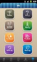 Screenshot of JJ app
