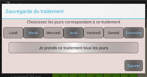 【免費醫療App】Mon Traitement Médical - Lite-APP點子