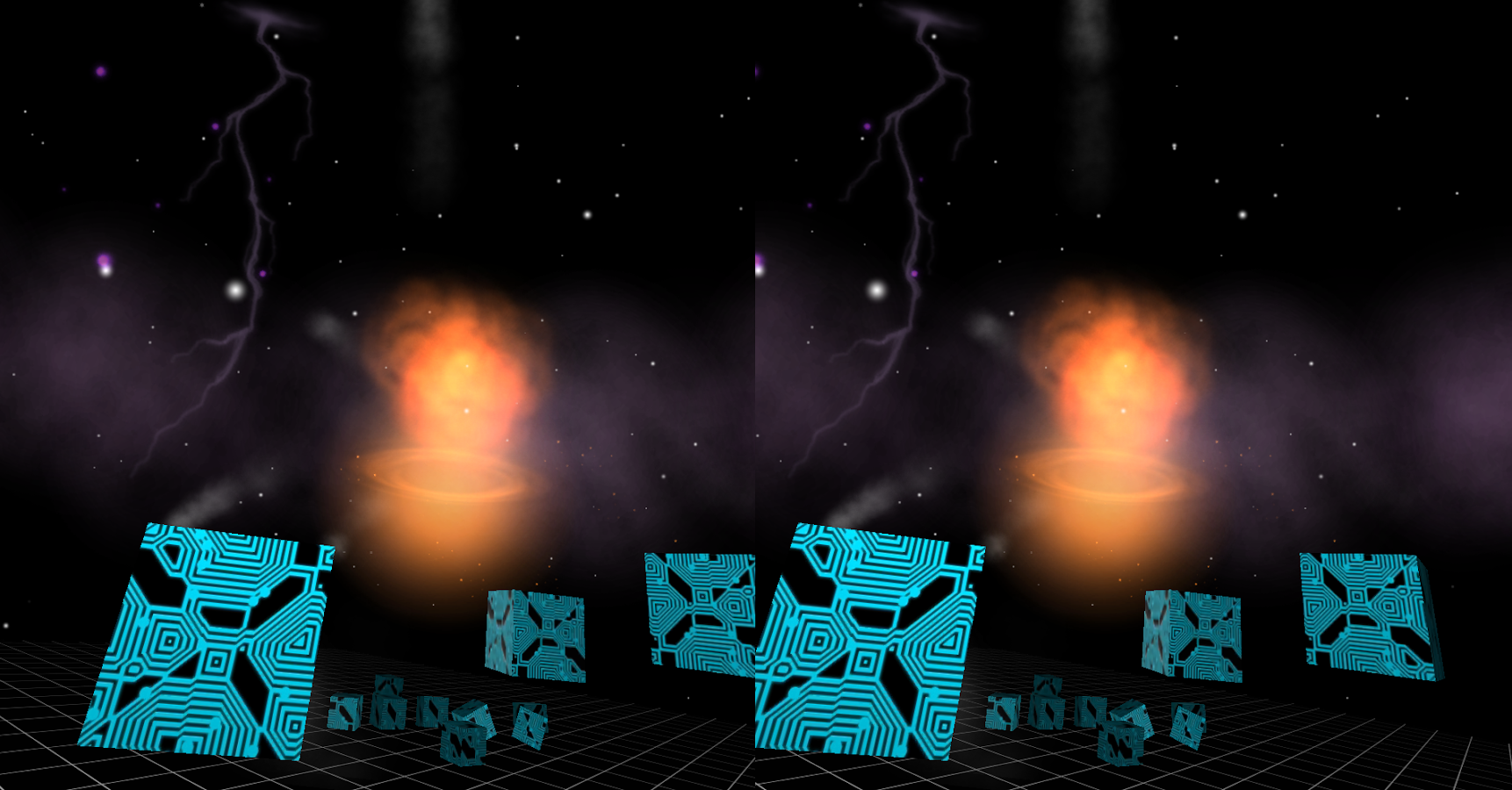 Astral Blast - Cardboard Demo- screenshot