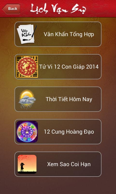Lịch Van Nien Pro 리치 베트남 - 반 쓰 - screenshot
