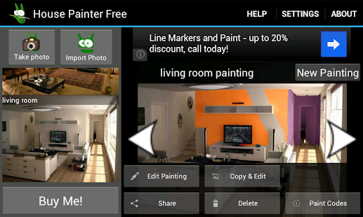 house painter free demo - android apps on google play
