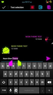 NEON GLOW (CM10.1/AOKP) THEME - screenshot thumbnail