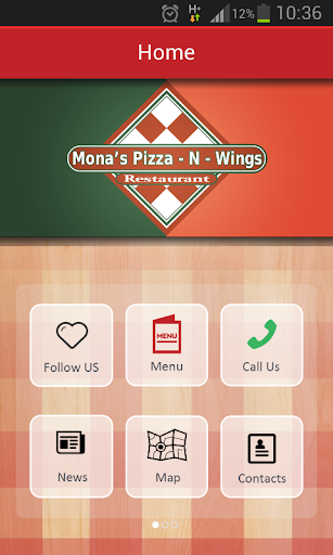 Mona's Pizza Wings