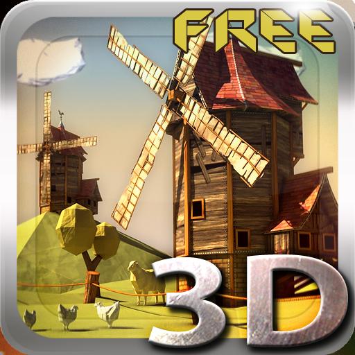 Paper Windmills 3D Free lwp 個人化 App LOGO-硬是要APP