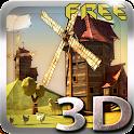 Paper Windmills 3D Free lwp