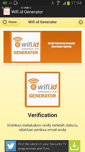 玩免費工具APP|下載Wifi.id Generator app不用錢|硬是要APP