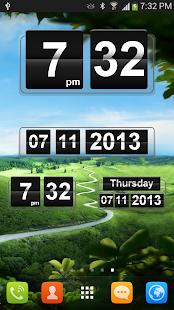 玩免費個人化APP|下載Retro Clock Widget app不用錢|硬是要APP