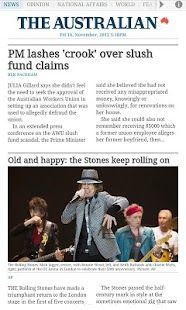 The Australian - screenshot thumbnail