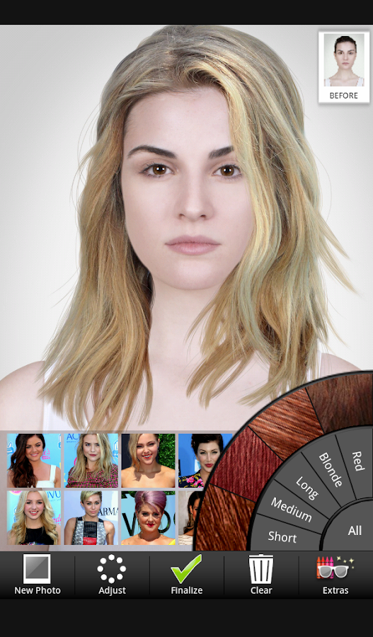 Admirable Celebrity Hairstyle Salon Android Apps On Google Play Short Hairstyles Gunalazisus
