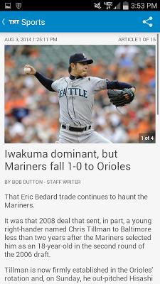 Tacoma News Tribune Newspaper - screenshot