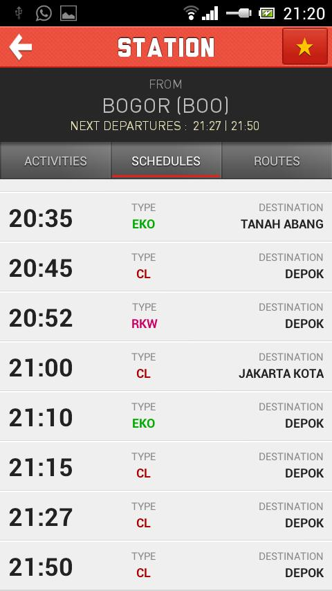 Komuter- screenshot
