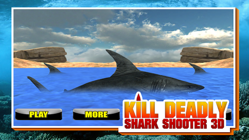 Kill Deadly Shark Shooter 3D