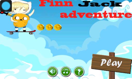Finn Jack Adventure Time
