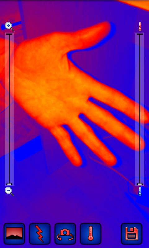 Thermal Camera - screenshot