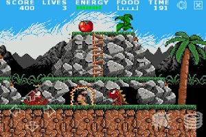 Screenshot of Prehistorik