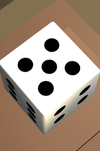 One Dice 3D: Free playing die