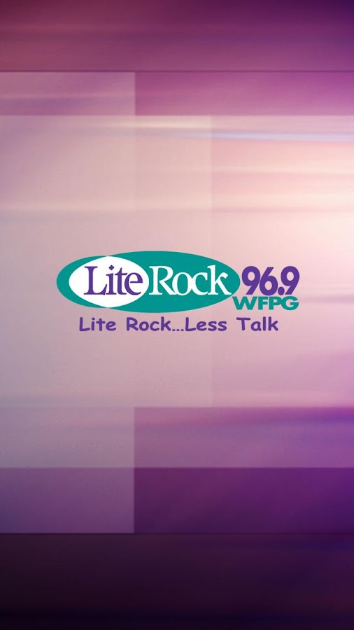 Lite Rock 96.9 WFPG - screenshot