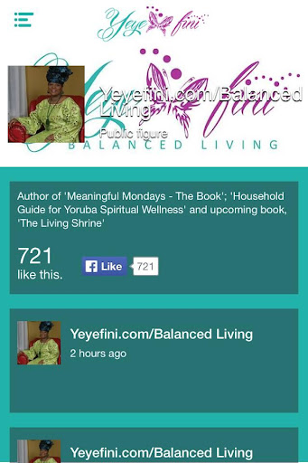 【免費生活App】Yeyefini Balanced Living-APP點子