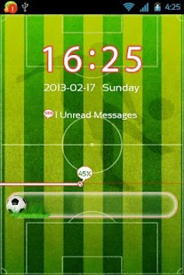 GO Locker Football Theme - screenshot thumbnail