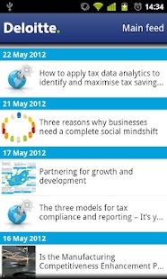 Deloitte SA iNsight - screenshot thumbnail