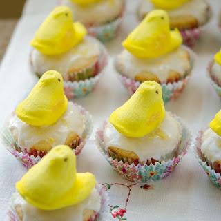Lemon Yogurt Cupcakes with Lemon Yogurt Icing.