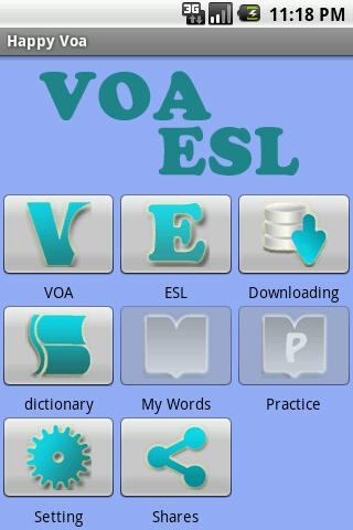 Happy VOA-ESL - Learn English - screenshot