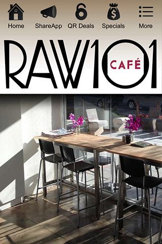 玩商業App|Raw 101 Cafe免費|APP試玩