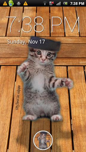 Kitty Dance Live Wallpaper