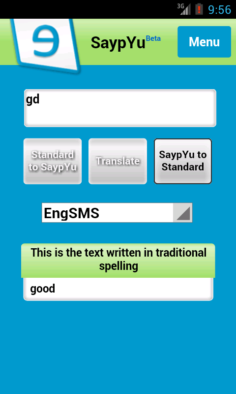SaypYu Language Pronunciation - screenshot