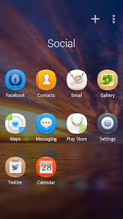 Blink GO Launcher Theme - screenshot thumbnail