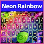 Neon Rainbow Keyboard