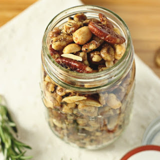 Spiced Rosemary and Thyme Nuts