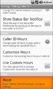 Talking Caller ID + - screenshot thumbnail