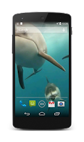 Screenshot of Dolphins Live Wallpaper