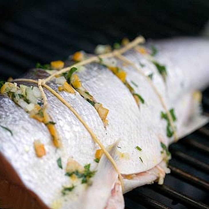 Grilled Wild Salmon with Preserved Lemon Relish Recipe