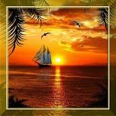 Tropical Sunset Live Wallpaper