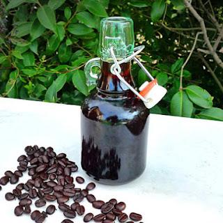 DIY Coffee Liqueur.