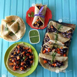 Mexican Crepe Tacos – Gluten-Free, Vegan
