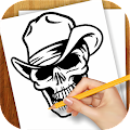 Game Learn to Draw Tattoo Skulls APK for Kindle
