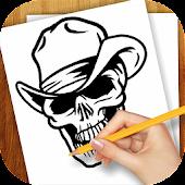Learn to Draw Tattoo Skulls