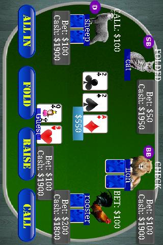 Poker - Texas Holdem zoo