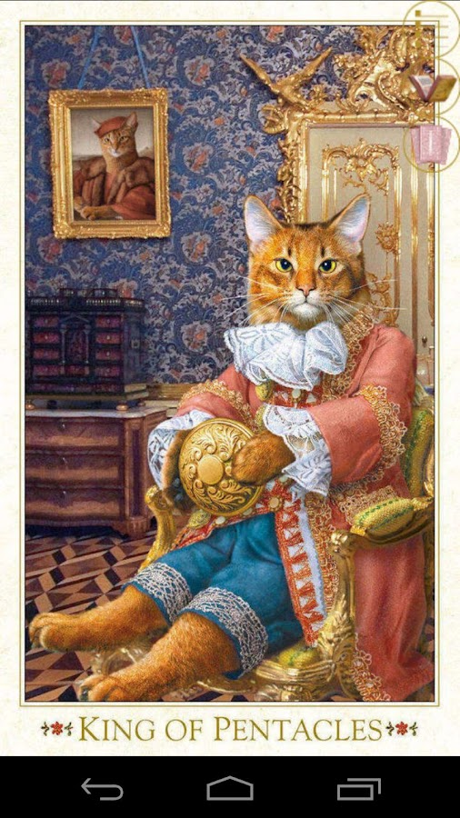 Baroque Bohemian Cats Tarot- screenshot