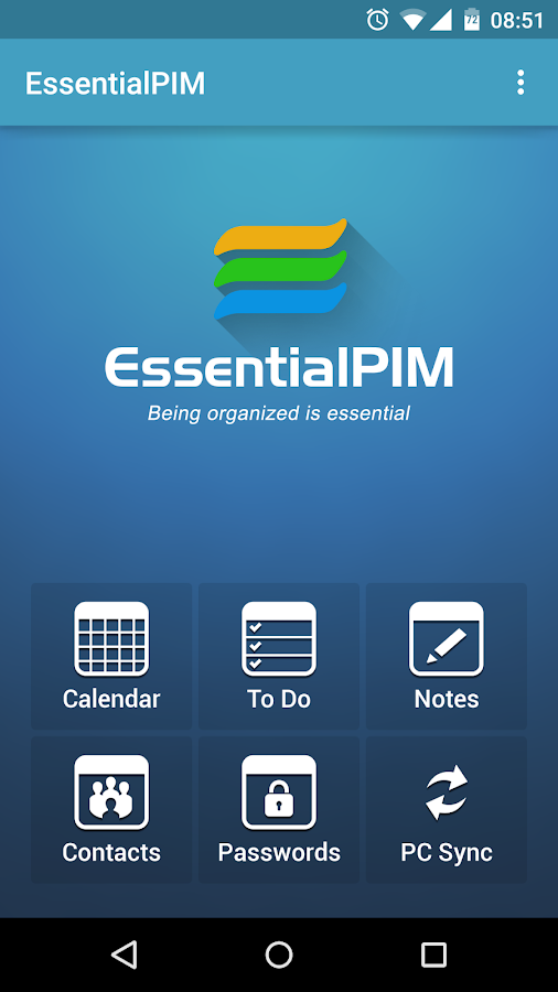 EssentialPIM - screenshot