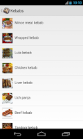 Screenshot of Uzbek Cuisine