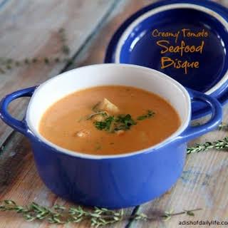 Tomato Seafood Bisque Recipes.
