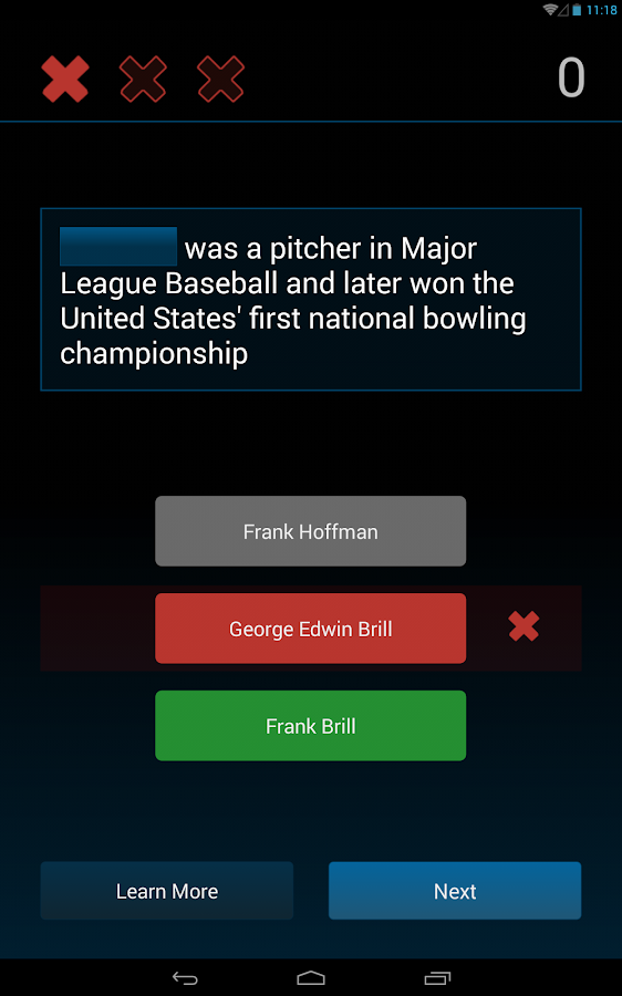 Wiki Quiz (Wikipedia Powered)- screenshot