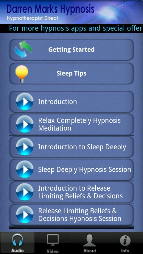 Sleep Deeply - screenshot