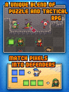 Pixel Defenders Puzzle DEMO- screenshot thumbnail
