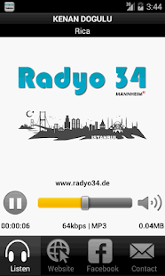 Radyo 34- screenshot thumbnail