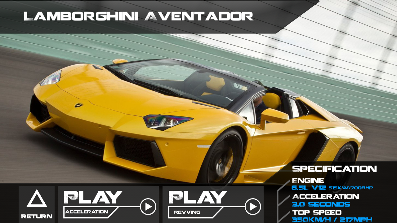 Rev-Amp: Exotic Car Sounds - screenshot